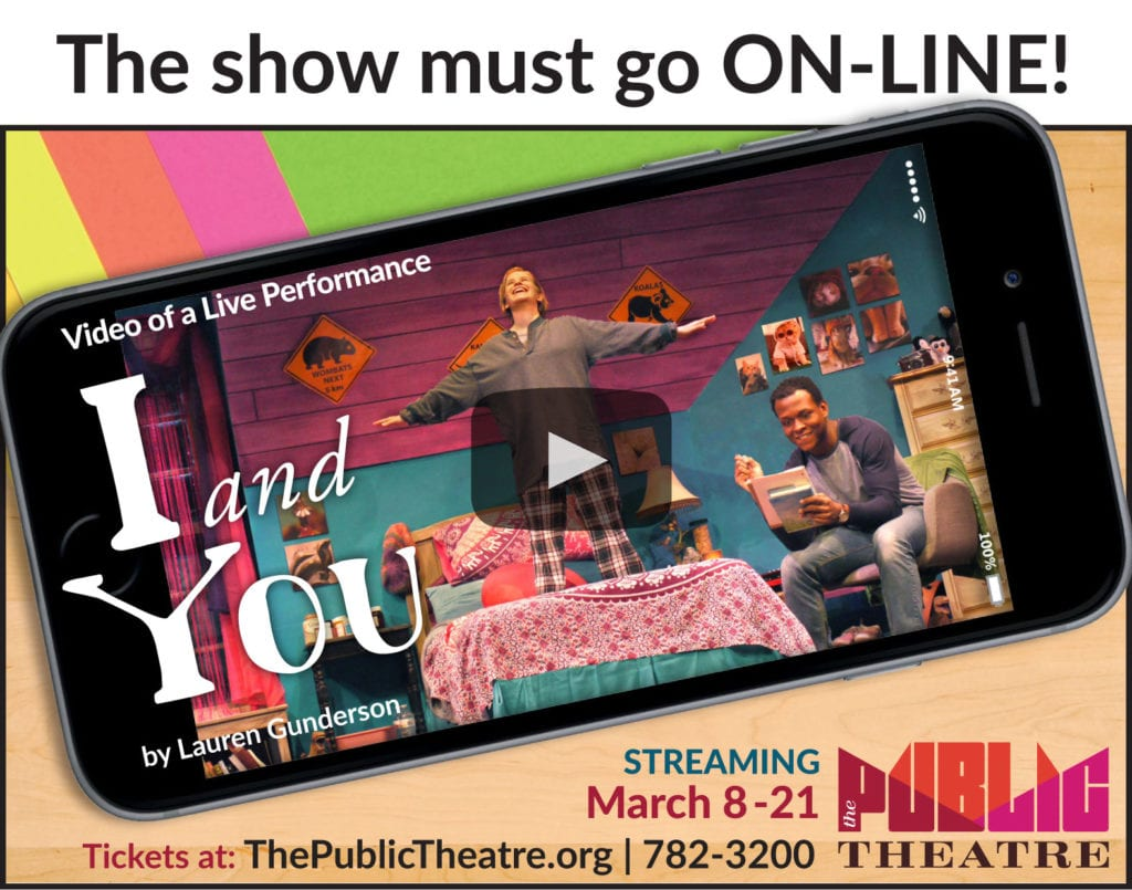 I and You Streaming March 8-21
