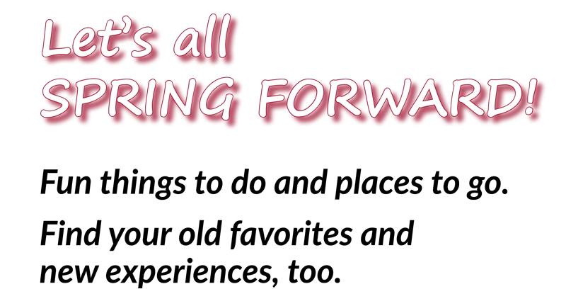 Let's Spring Forward
